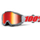 100% Accuri - Gafas enduro - Anti Fog Mirror Lens / gris